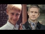 Как выглядели актёры до того как снялись в сериале Шерлок!