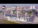 Budapest, Hungary 4K fly aerial video