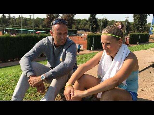 Sevilla Entrevista despues de la victoria en primera ronda