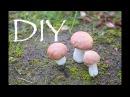 Грибочки из фоамирана DIY Tsvoric Mushrooms from Foamiran