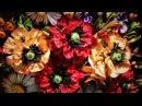 Цветок МАКА из лент КАНЗАШИ, мастер класс / DIY Ribbon Flower KANZASHI