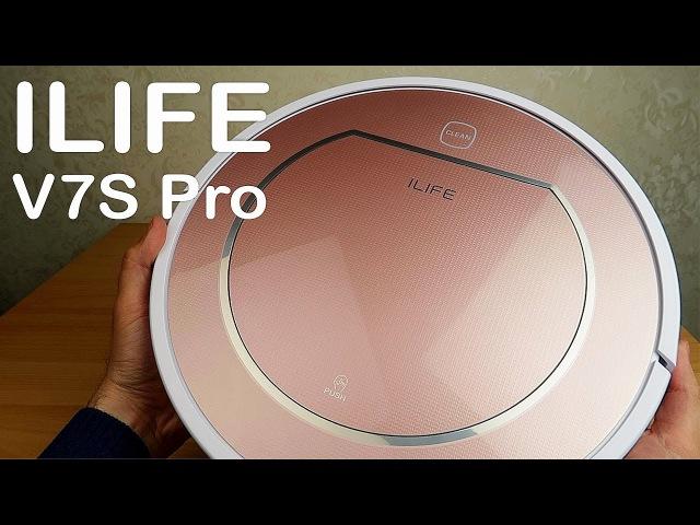 Робот пылесос ILIFE V7S Pro большой и тихий Какой робот пылесос выбрать