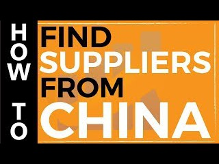 How to Find Suppliers from China and Sell Your Product on Amazon