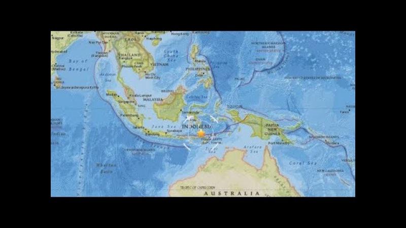 Sismo de 6.7 en Indonesia, no hay alerta de Tsunami