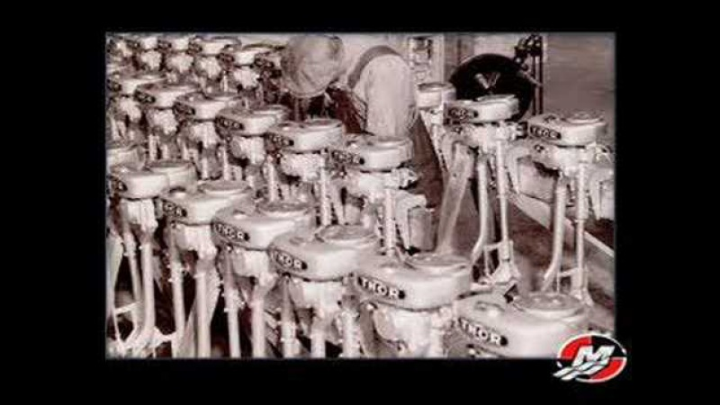 Mercury Marine Outboard Engine Video History - Part 1