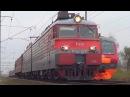 Электровоз ВЛ11 8 817 с вагоном Дефектоскоп