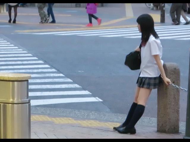 Япония влог. Пять утра на Сибуя, уличное карате, школьницы, японская провинция