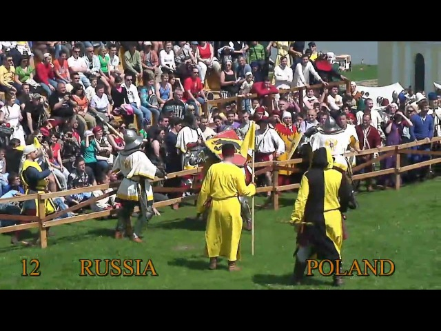 Б. НАЦИЙ 2010 01-05-10 5vs5 6-16 fight Russia Ukraine Belarus