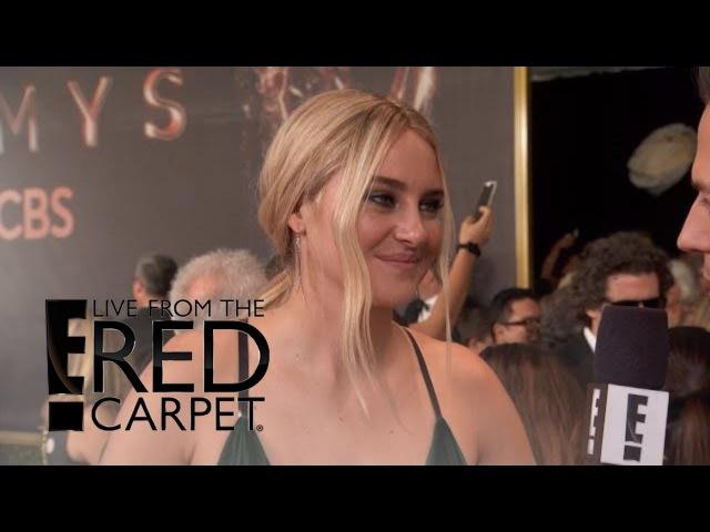 Shailene Woodley Loves Her Big Little Lies Costars E Live from the Red Carpet