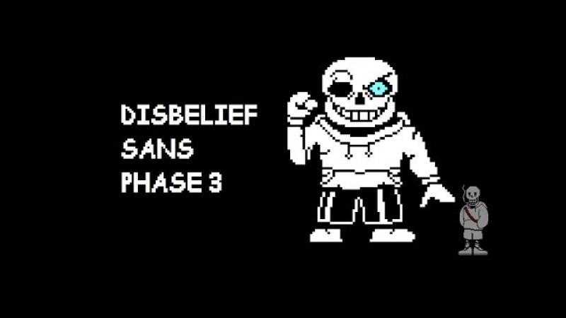 Underswap Disbelief Sans Phase 3 Theme (Comebone)