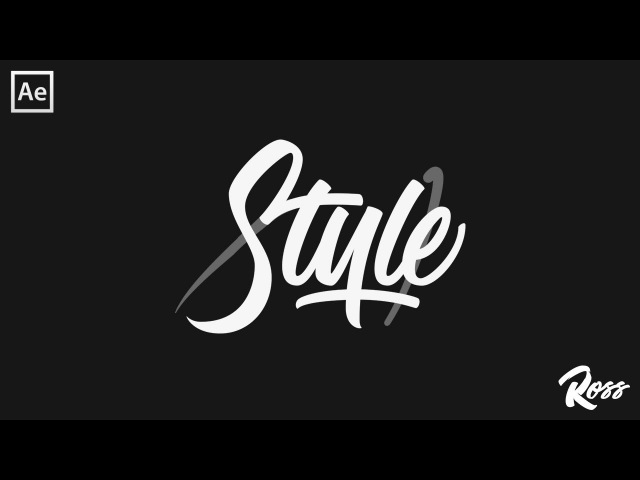 HOW TO ANIMATE YOUR HAND LETTERING (FOR BEGINNERS)! AFTER EFFECTS TUTORIAL - PART 1
