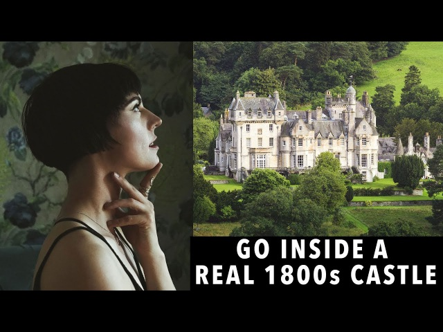 Complete house tour of a REAL 1800s Scottish CASTLE! | Sorelle Amore