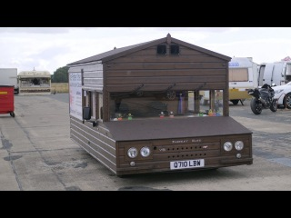 World's Fastest Shed Hits Record Breaking 96mph   RIDICULOUS RIDES