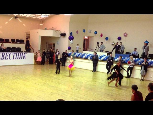 Спортивные бальные танцы Джайв Юниоры 1
