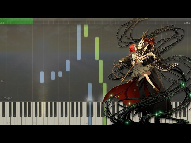 Nelvin's Final Dream - Mahoutsukai No Yome OST EP.3 | 魔法使いの嫁 [Piano Tutorial Midi | Sheet]
