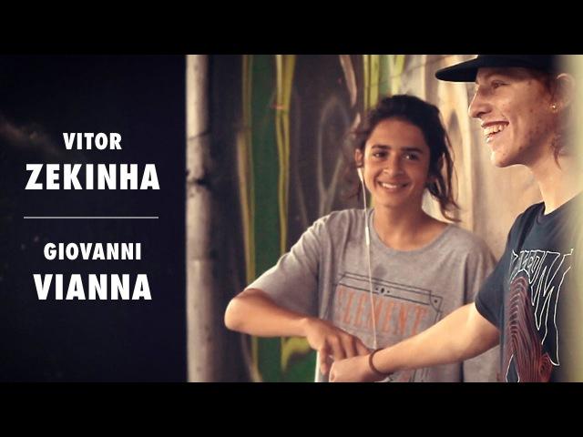 Welcome Vitor Zekinha e Giovanni Vianna