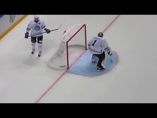 KHL goalie warm up. Jhonas Enroth 90217