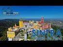 Palacio da Pena. Sintra, Portugal - Air Drone View