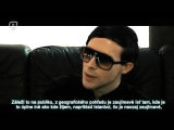 IAMX interview at ELECTRIFY YOUR MIND I 4 I Gluuu tv