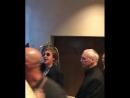 Paul leaving at Hotel in Salvador October 20 2017 filmed by Lucas McCartney