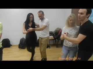 Самая большая РУЭДА на САЛЬСЕ,которую я видела и участвовала).Виталий Гудименко в школе танцев Breeze Dance