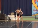 Чир-джаз двойка. Гаева_Корнева. Губкин 2017.