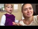 Марточка поздравляет Настену с Днём Рождения.