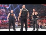 [РУС: 545TV] WWE RAW / 23.01.2017 - Голдберг & Брок Леснар & Гробовщик - лицом к лицу
