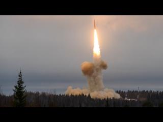 Запуск ракеты «Тополь-М»