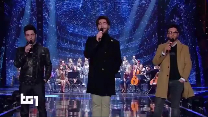 Il Volo - Standing Ovation Tg1