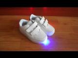 модные светящиеся кроссовки