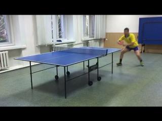 Пинг-понг. Настольный теннис. ССК Молния.