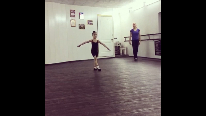 Будни моей маленькой балерины