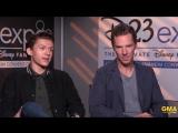 Good Morning America   Интервью с Томом Холландом и Бенедиктом Камбербэтчем