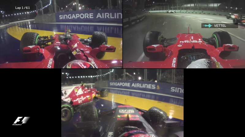Best Onboards ¦ 2017 Singapore Grand Prix.