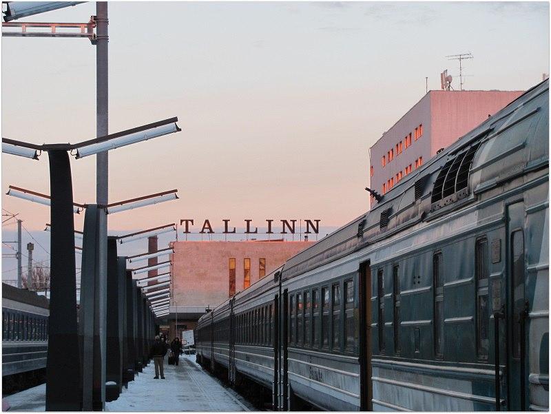 Эстафета от @jurgan: Вокзал. Таллинский Балтийский вокзал.