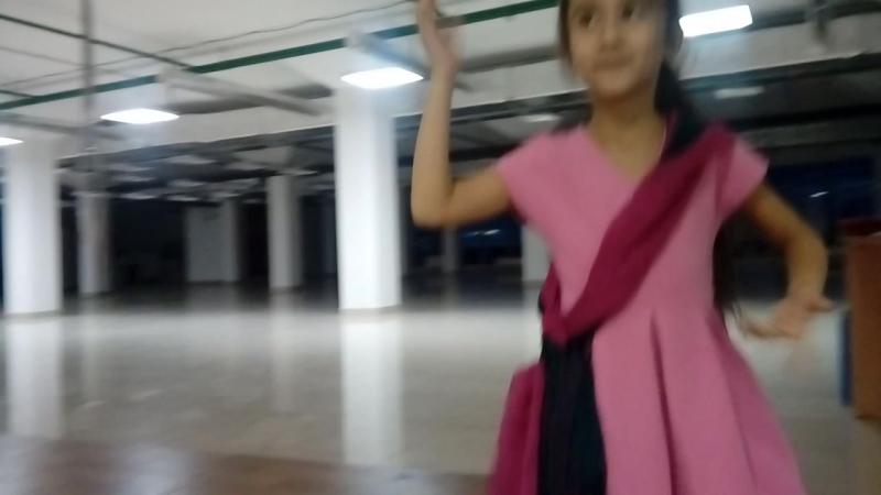 Жасмина. Индийский танец. На репетиции.