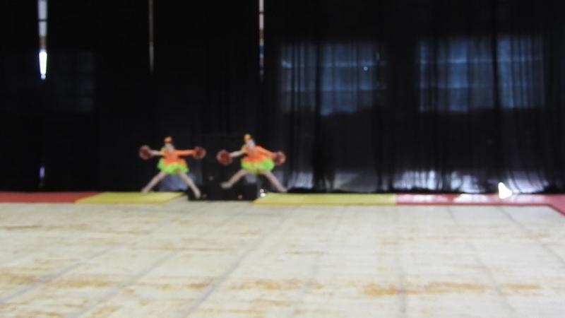 Чемпионат по черлидингу в Челябинске 05 02 2017 Блестящие дуэт