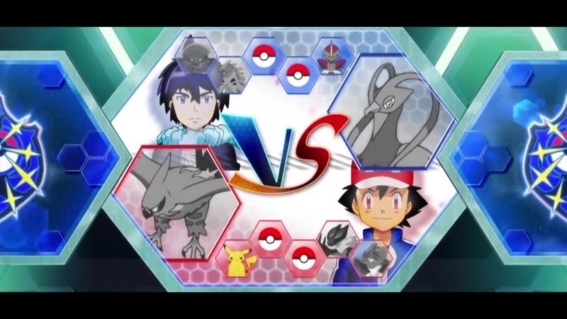 「AMV」Pokemon - Ash vs Alain (Kalos League Final FULL BATTLE)