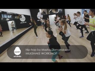 Milkshake workshop - Hip-hop by Masha Domanskaya -  Open Art Studio