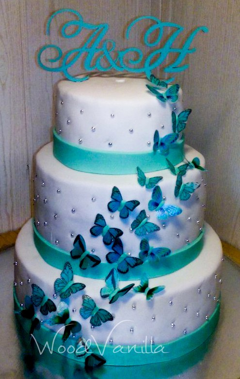 Наш #топпер на свадебный торт от Ирина Нефёдова