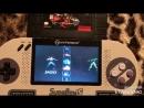 "Игры ""Super Mario All Stars, Killer Instinct, Turtles"" на приставке SupaBoy S"