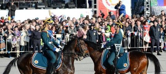 Развод караулов – одна из самых красочных воинских церемоний