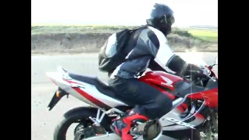 Honda Cbr 600 f4i No Exhaust