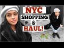 NYC Shopping Haul! | Vlogmas 11