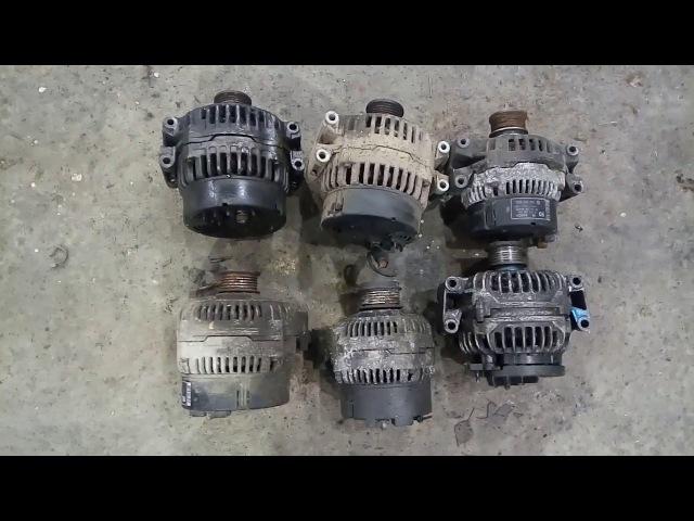 Mercedes vito w638 генераторы и их отличия.