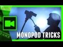 MONOPOD - 5 creative camera TIPS and TRICKS | Cinecom