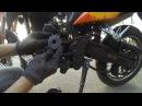 Замена звезды JTF287 на мотоцикле Viper v250vxr Irbis xr250