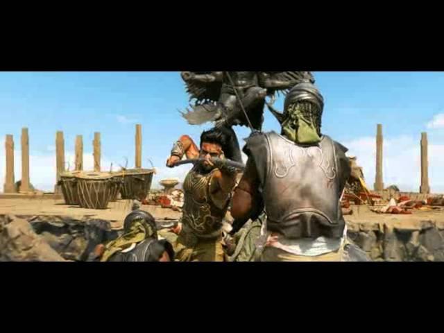 Бой против ста (из фильма Великий воин) » Freewka.com - Смотреть онлайн в хорощем качестве
