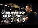 Gavin Harrison: Grooving With 3's 4's and 5's - Drum Lesson (Drumeo)
